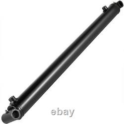 Cylindre Hydraulique Soudé Double Action 2 Bore 28 Tube Croisé 2x28 Sae6