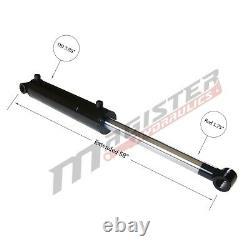 Cylindre Hydraulique Soudé Double Action 3.5 Bore 24 Avc Cross Tube 3.5x24