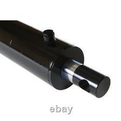 Cylindre Hydraulique Soudé Double Action 4 Bore 8 Stroke Pineye End 4x8 Nouveau