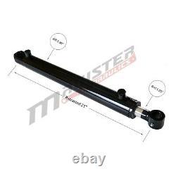 Cylindre Hydraulique Soudés Double Effet 2 Bore 12 Stroke Tang 2x12 Wtg Nouveau
