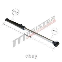 Cylindre Hydraulique Soudés Double Effet 2 Bore 22 Cross Tube Stroke 2x22 Nouveau