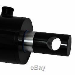 Cylindre Hydraulique Soudés Double Effet 4 Alésage 36 Stroke Pineye Fin 4x36 Nouveau