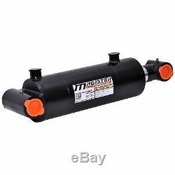 Cylindre Hydraulique Soudés Double Effet 5 Bore 30 Cross Tube Stroke 5x30 Nouveau
