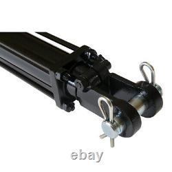 Cylindre Hydraulique Tie Rod Double Action 3 Bore 24 Stroke 2500 Psi 3x24 Nouveau