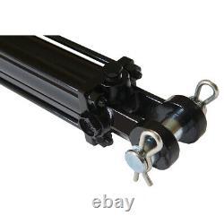 Cylindre Hydraulique Tie Rod Double Action 3 Bore 8 Stroke 2500 Psi 3x8 Nouveau