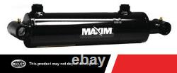Maxim 3000 Psi Wt Cylindre Hydraulique Soudé Avec 5 Po. Arrière X 42 Po. Accidents Cérébraux