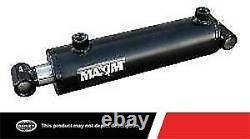 Maxim 3000 Psi Wt Cylindre Hydraulique Soudé Avec 6 Po. Arrière X 48 Po. Accidents Cérébraux