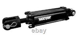 Maxim Tie-rod Cylindre Hydraulique 3 Bore, 24 Stroke, 1,5 Rod, Sae 8
