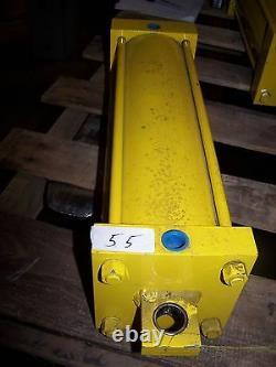 New Hydraulic Cylinder 16 Stroke 3-1/2 Bore 1 Threaded Shaft