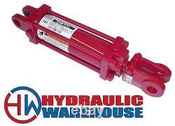 Prince Manufacturing Cylindre À Tige Hydraulique Sae-8404 2 Bore X 4 Temps Nouveau