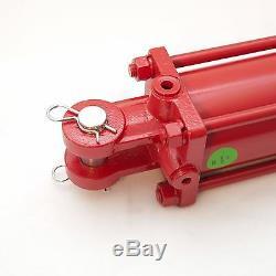 Tie Rod Cylindre 3,5 X 24 Hydraulique À Double Effet, 3,5 X 24 Dans L'alésage Des Accidents Vasculaires Cérébraux