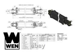 Wen Tr3530 2500 Psi Tie Rod Cylindre Hydraulique Avec 3.5 Alésage Et 30 Course